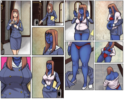 Une Blueberry 1-2 by Roger64