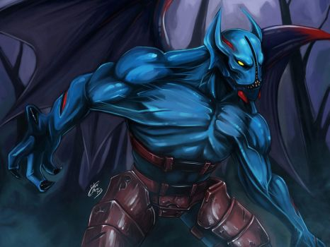 Night Stalker - Balanar by Silver-Fate