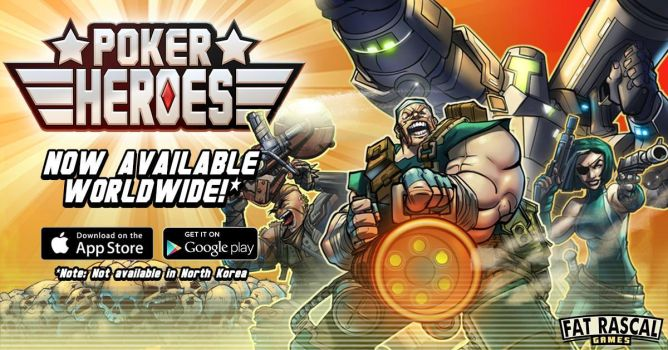 Poker Heroes is LIVE!!!! by billydallaspatton
