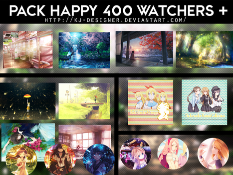 PACK HAPPY 400 WATCHERS + by KJ-Designer