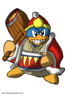 Rey Dedede Kingdom Hearts JR by DrPingas