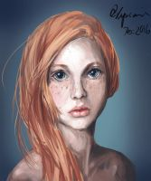 Portrait_Ginger by Xyncomix