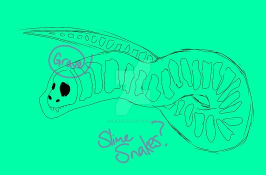 Slime Snakes  Jelly Dragons (Chinese type)? by FutureGrave