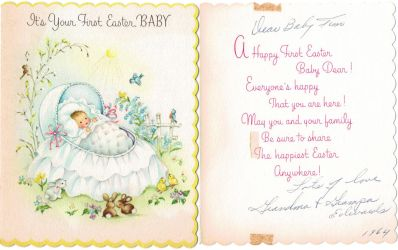 Baby Easter Letter by IdanCarre