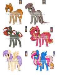 Pony Palette Challenge 2/6 OPEN by daydreamingdragon123