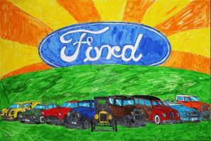 Ford Tribute Art by Jetster1