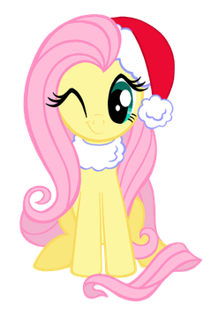 Winter Fluttershy by lonewolf3878