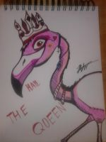 Flamingo QUEEEEEEN by twistedsanity85