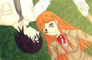 UlquiHime: Laying in the Grass by IdenCat