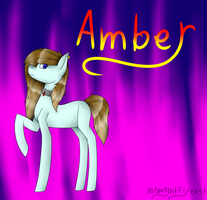 Amber + Speedpaint by MidNightFlyer53