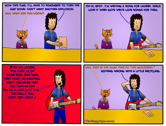 Dan Comics No.59 - New Girl in Town 12 by The-Happy-Spaceman
