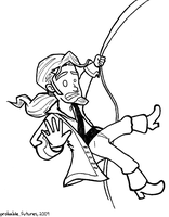 Guybrush Escapes by Probable-Futures