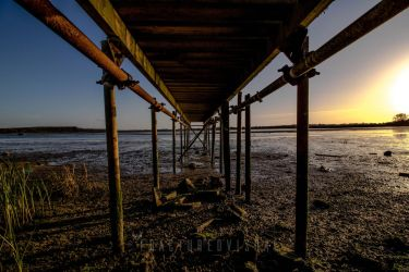 Under the jetty by Fractured-Visual