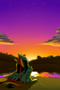 Sunset by Underpable