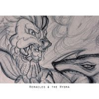 Heracles and the Hydra by yuchunho