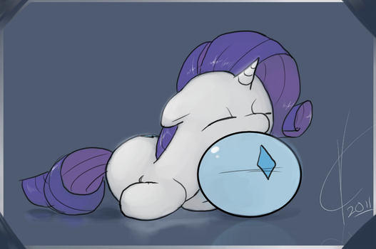 This is my pillow. by Dreatos