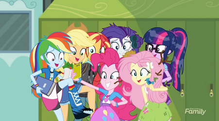 MLP Equestria Girls Monday Blues Moments 7 by Wakko2010