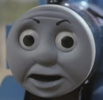 Thomas' O face aka THE FACE OF EVIL by bloatenator