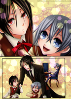 Art Trade 1 (with Alois Tranchie) by namisiaa