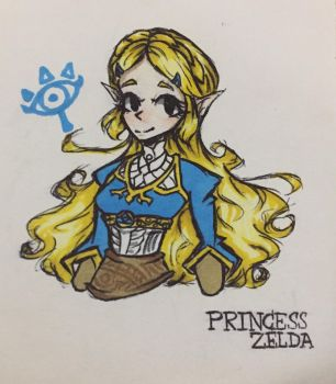 Princess Zelda by GoddessNintendo