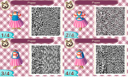 ACNL QR- Popee Dress by Lover-of-Music