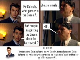 Doctor Who - The Doctor VS Sexist Buffoon by DoctorWhoOne