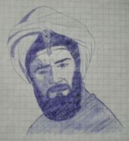 Man with Turban by Darvel