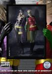 Batgirl and Robin, Stephanie Brown, Dark City No.8 by DevilishlyCreative