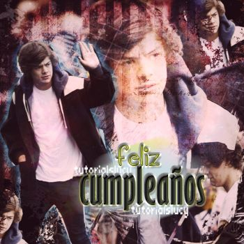 Hazza Feliz Cumpleanos by tutorialslucy