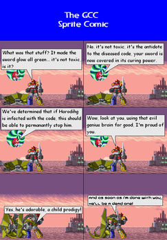 The GCC Sprite Comic 340 This Could Be Trouble by Godzilla90sTK