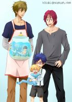 The Free! Family by h0saki