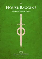 Poster Baggins (green) by Lokiable
