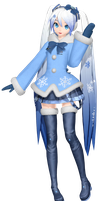 MMD Dreamy Theater Extend: (66) Snow 2012 Dowload by MisakiGalhardo