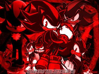 Shadow the Hedgehog wallpaper by Joramchameleon