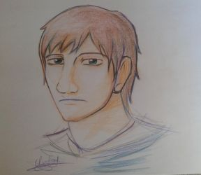 RandomDrawing   Man Face N1 by Yumechan774