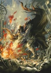 Barbarian of fire by antilous