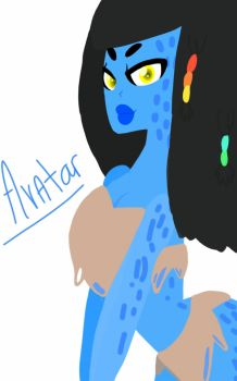 Avatar gal by AvraZon2014