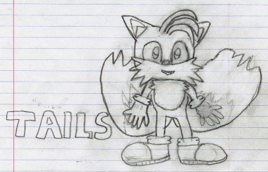 Tails Sloppy Pic by AlexKirby1989