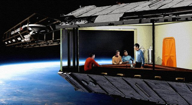 Star Trek Nighthawks by Rabittooth