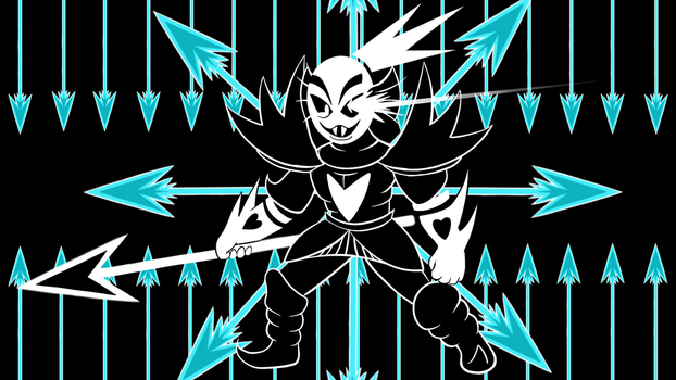 Undyne the Undying Genocide by Sky-Sketch
