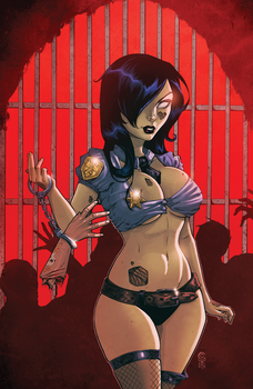Zombie Tramp Colors by ColletteTurner