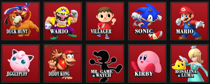 My Top 10 Main Hated Characters on Smash Bros. by tallsimeon2003