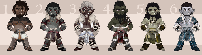 [Adopts] Orc Beans || USD/Flat | closed by skele-tea