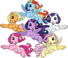 My Little Pony: Memories are Magic by TheShadowStone