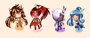 [OPEN] Adoptables~ (only two left) by Shee-ry