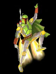 Boba Fett the Bounty Hunter by Sularias