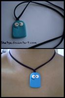 Bloo necklace by Shatya
