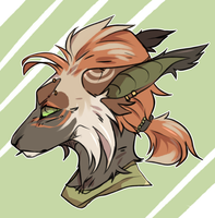 Headshot Commission - akoshka by Aohen