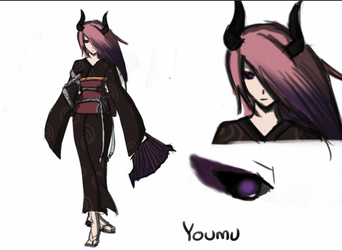 Project_4: Youmu character concept by SirSakai