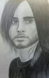 Jared Leto portrait by MyPinkLifecOc